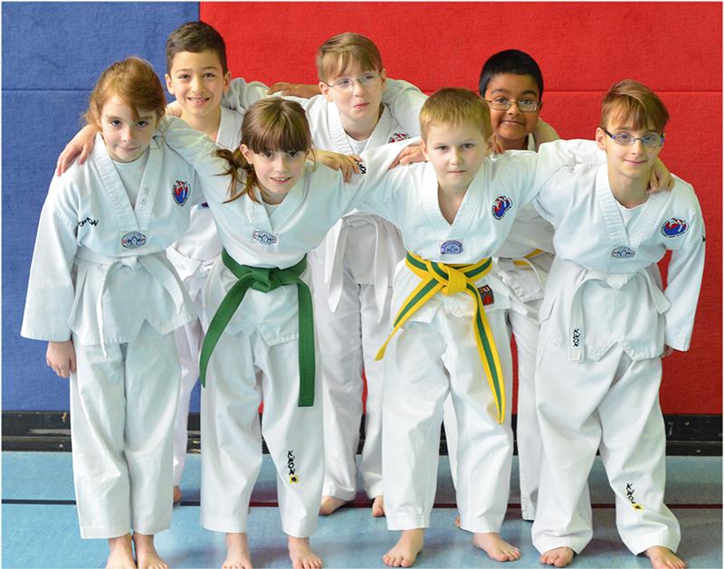 Taekwondotraining für Kinder und Jugendliche