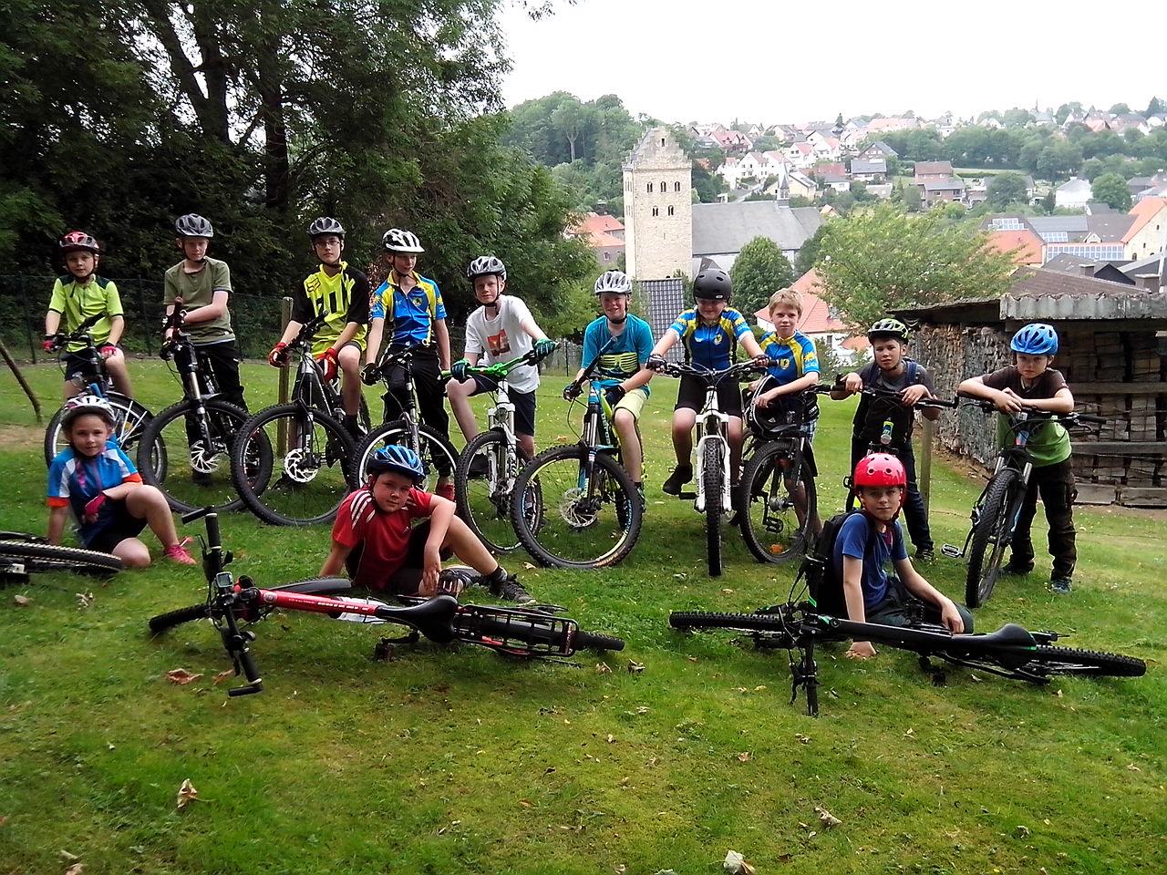 Mounteinbike Training für Jugendliche ab 10 Jahre
