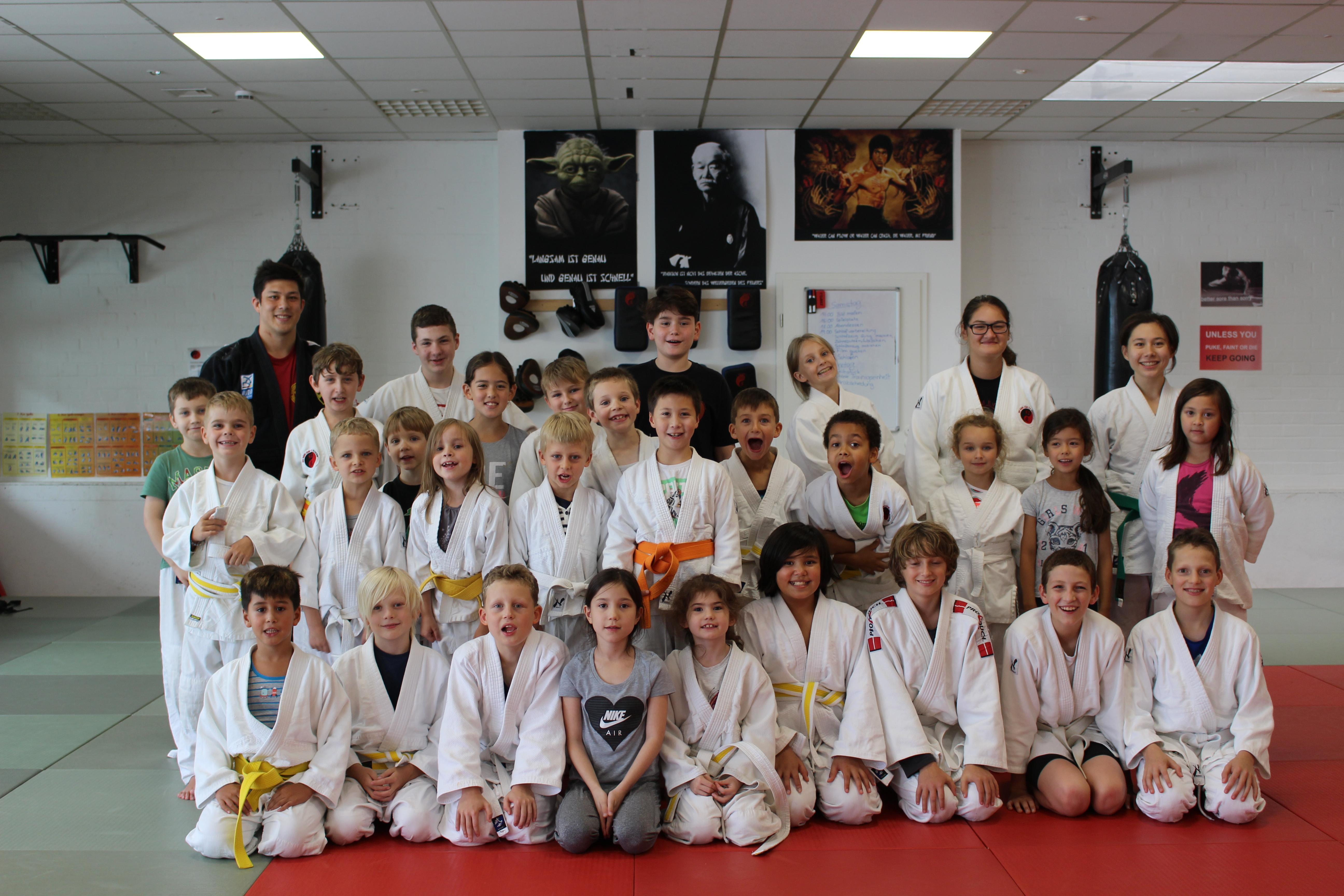 Judo Eltern und Kind