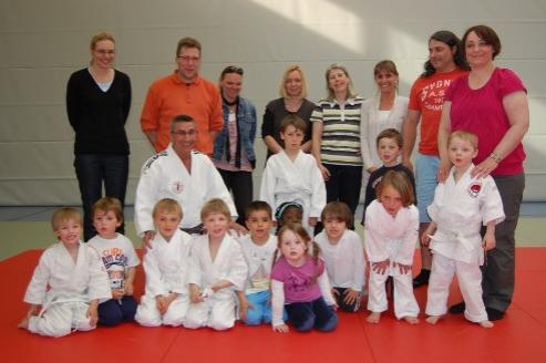 Judo Kleinkinder