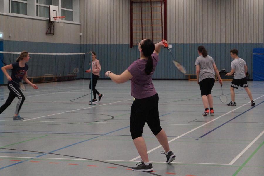 Badminton Jugendliche