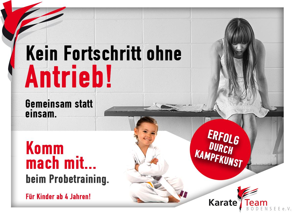 Karate für Minis 4-6 Jahre
