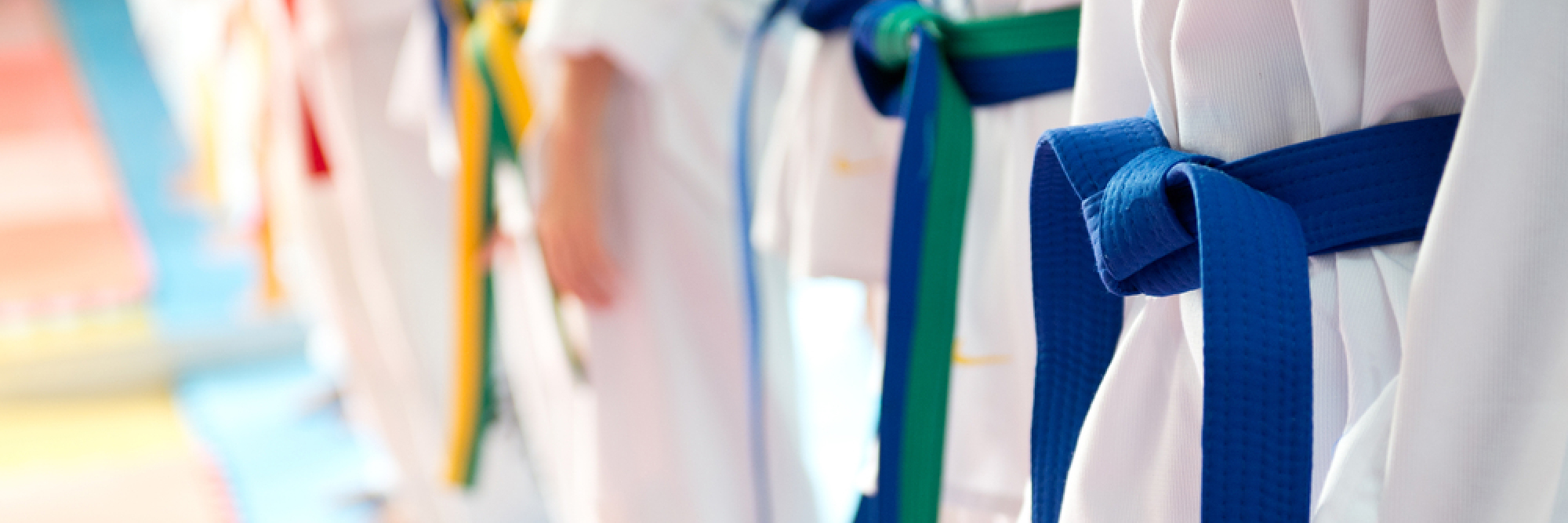 Taekwondo - Kinder Selbstverteidigung