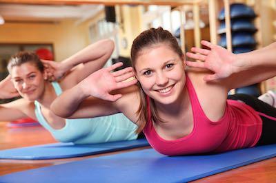 Rücken Fitness
